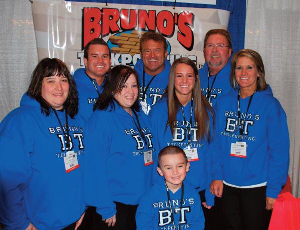 Brunos Tuckpointing Staff